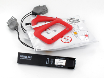 Physio Control LIFEPAK CR Plus Replacement Express Charge Pak & 2 sets of Electrodes Product Photo