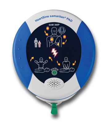 HeartSine Samaritan 360P AED Aviation Product Photo