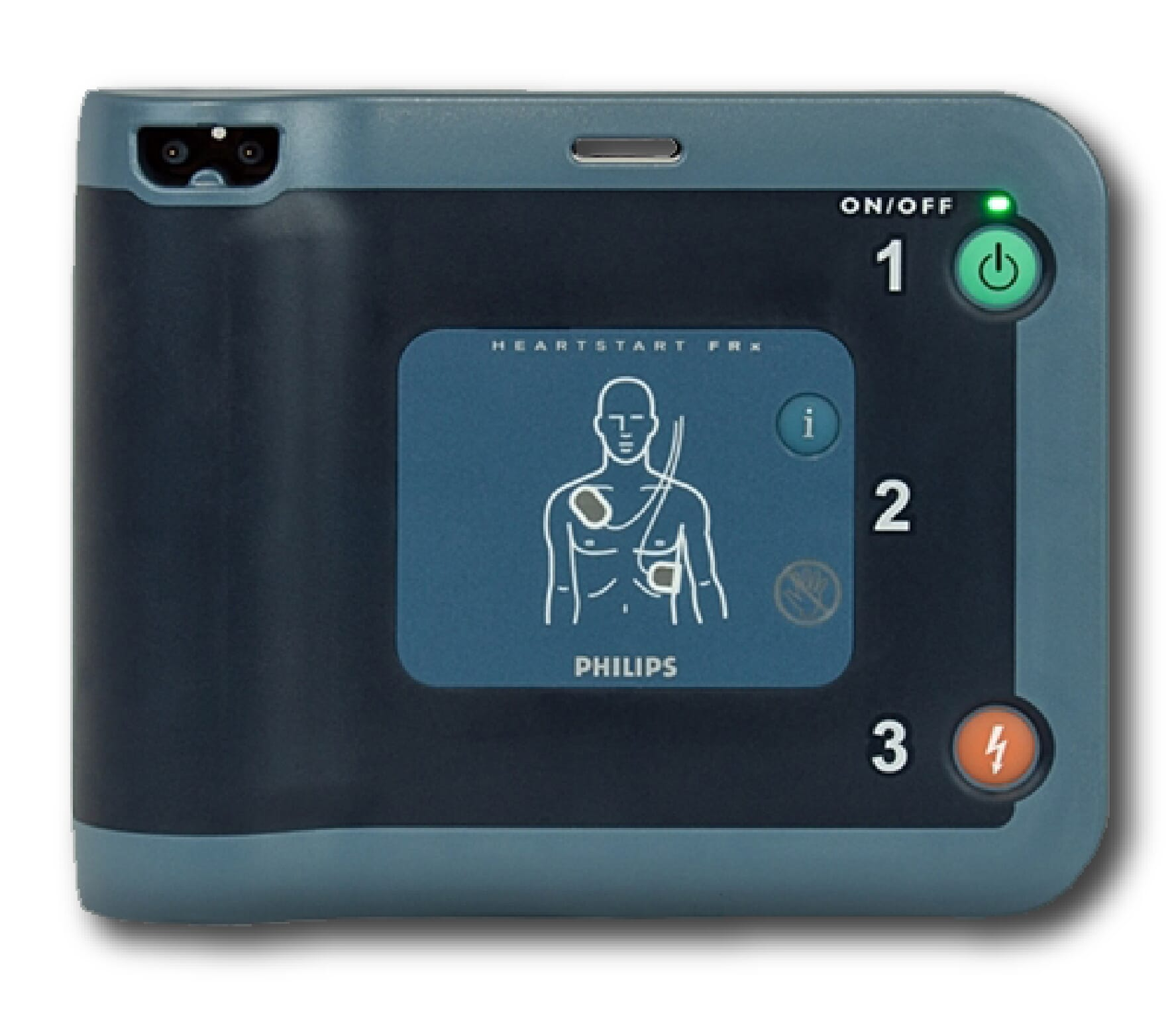 Philips HeartStart FRx AED in Plano