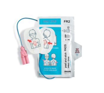 Philips FR2 AED Pads Pediatric Product Photo