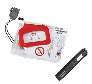 Physio Control LIFEPAK CR Plus Replacement Express Charge Pak & 1 set of Electrodes Product Photo